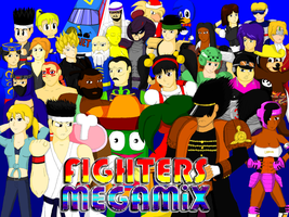 Fighters Megamix by CrossoverGameReviews