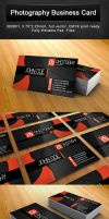 PHOTOGRAPHER BUSINESS CARD by r-dowaik