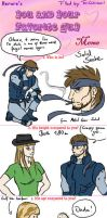You and your favourite guy Meme - Solid Snake by TariToons