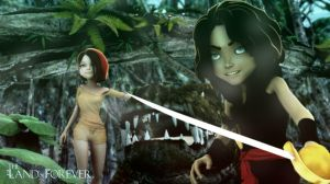 Peter Pan: The Land of Forever by fran444