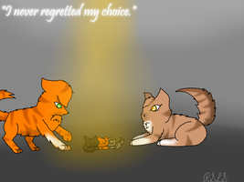 Squirrelflight and Leafpool- The three by Rainstarlightsky