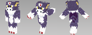 Dorugamon Minecraft Skin by Wyndbain