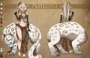Nhuala the elf by Drunkfu