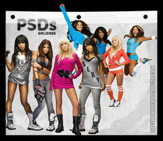 PSDs Girlicious by bielicious