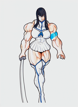 satsuki_by_ayanamifan - Colored by cactusjoe999