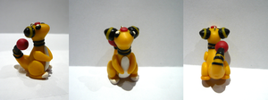 Ampharos Charm by PhantomxFan
