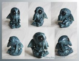 Baby Cthulhu by BittyBiteyOnes