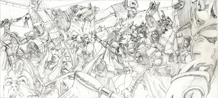 World of Warcraft Pencils by RobHough