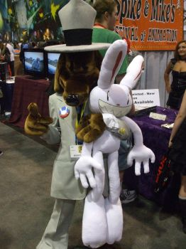 Sam and Max, on the case by Rabbette