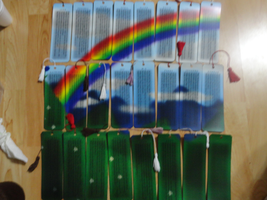 Bookmarks Puzzle - A Rainbow xD by SiguusaEcho