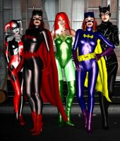 Ladies of Gotham by Tuffers-Art