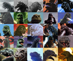 Godzilla Evolution by Tails3000
