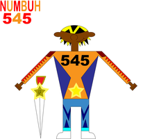 NUMBUH 545 by Flame-dragon
