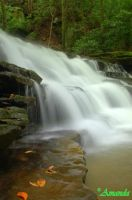 Keeney Creek, WV by AGreenGirl
