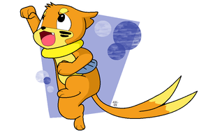 Super Buizel by Phoelion