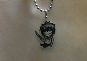 Jeff the Killer charm by Negi-Magi