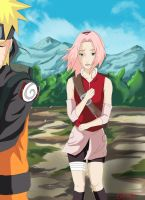 Narusaku: Concern by Celious