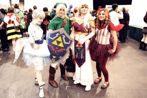 LoZ: Ocarina of Time Group by TheEmpiresGuild