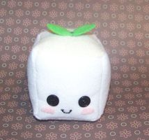 Tofu Mini Stuffie by RyuuseiHime