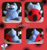 Catbug Plushie :For Sale: by Ami-Plushies