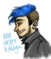 Teddy Lupin by sawebee