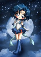collab: sailor mercury by pandora29