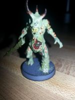 Plaguebearer of Nurgle by demoncloak89