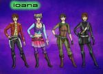 Ioana Outfits Commission by Captain-Savvy