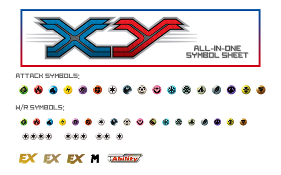 XY Symbol Sheet by Metagross101