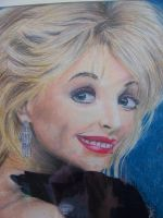 Portrait of Dolly Parton by ninatwinsanity