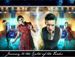 Journey to the Centre of the Tardis wallpaper by LaMoonstar