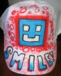 Smile cap by Luckyairbrush