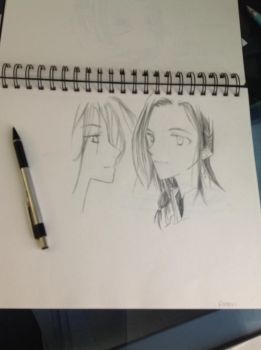 Maedhros and Fingon [WIP] by Lembas--Bread