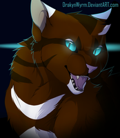 Hawkfrost (+Speedpaint) 2016 Version by DrakynWyrm