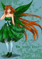 The spring fairy by Roots-Love
