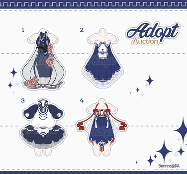 [Adopt Auction] Outfits #4 CLOSE by BibiAD