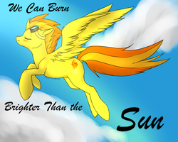 We can Burn Brighter than the Sun by MagicMoonbeams
