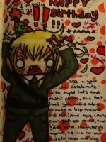 Chibi England (Auther Kirkland) from Hetalia :3 by KIBBLK9