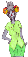 Green Girl by SGTCTOINFINITY