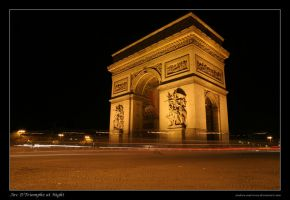 A rush at the Arc D'Triomphe by Andrew-and-Seven