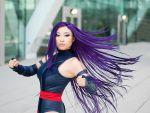 Psylocke Hairflip by yayacosplay