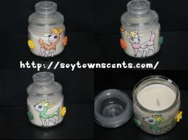 deerling candle by owlnuggets