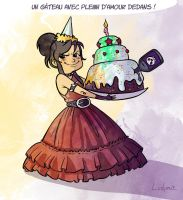 A lovely birthday by Ludimie