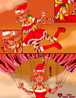 Christmas comic commission for Phallen1 by ladypixelheart