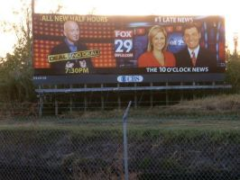 Billboard for FOX 29 by PatrickJoseph
