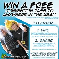 Win A Free Convention Badge - Anywher in the USA! by OurDestinyDesigns
