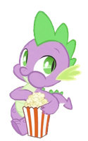 Spike's Popcorn by Exbibyte