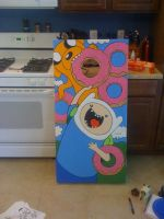 Cornhole Adventure Time by Frazzy626
