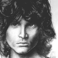 Jim Morrison by Nobody-Parks-Here
