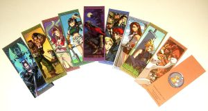 Printed FFVII Bookmarks by Risachantag